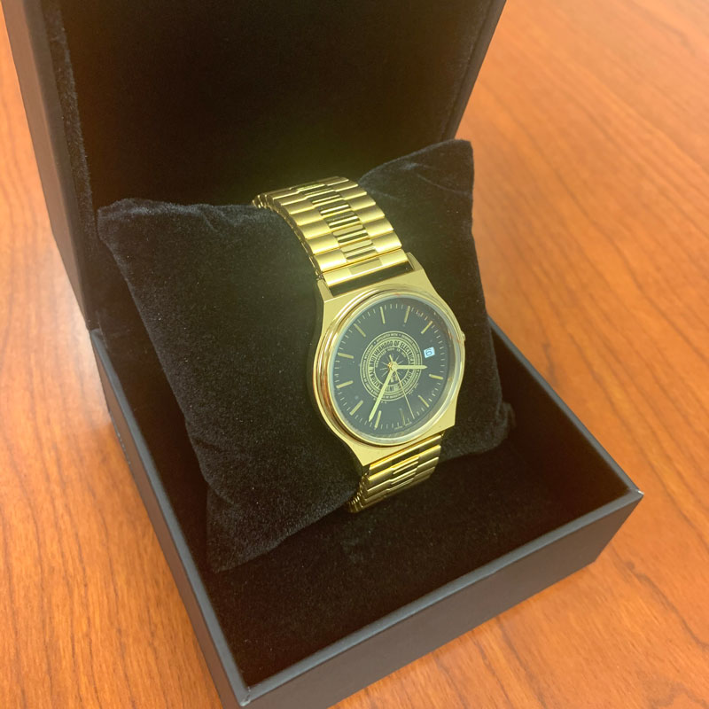 IBEW Gold Watch – $80