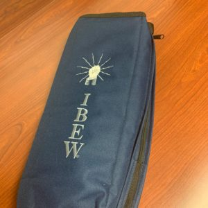 Black IBEW Cooler Bag – $16