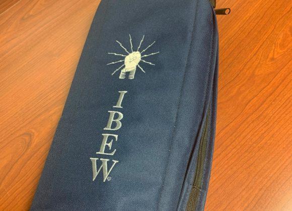 Black IBEW Cooler Bag – $16