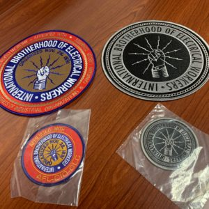 IBEW Patches – $10